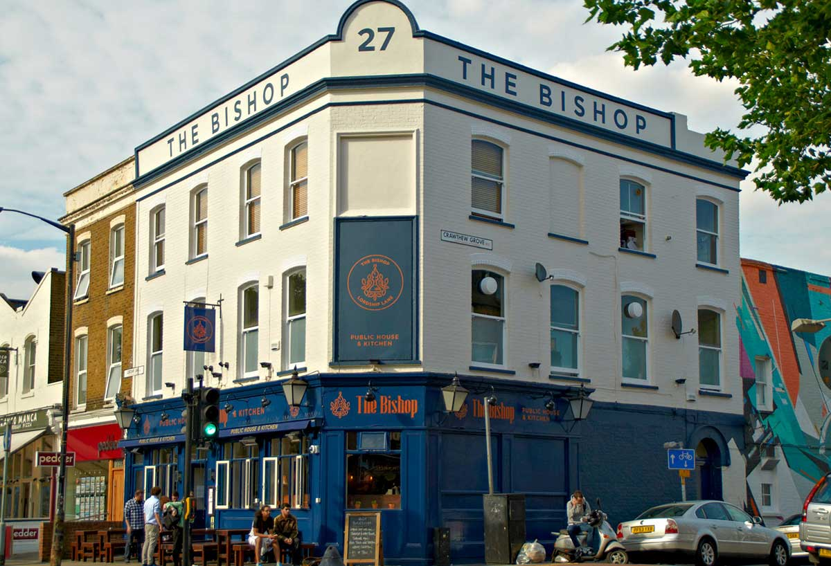 the bishop east dulwich