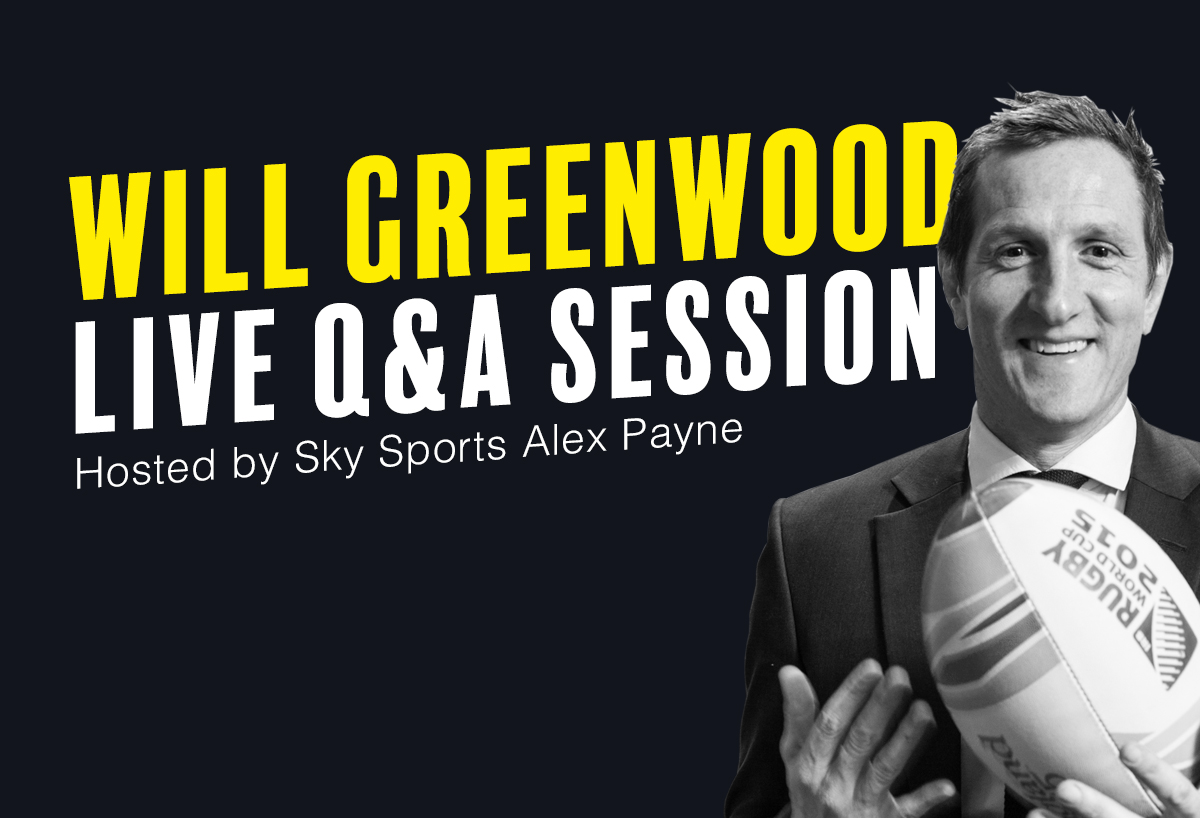 Will Greenwood Q&A at St Margaret's Tavern